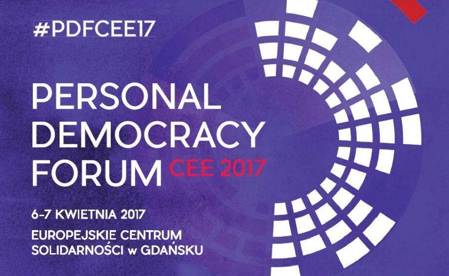 PERSONAL DEMOCRACY FORUM zagości w Gdańsku w dniach 6-7 kwietnia