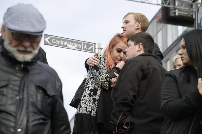 Świadkowie zamachu w Sztokholmie