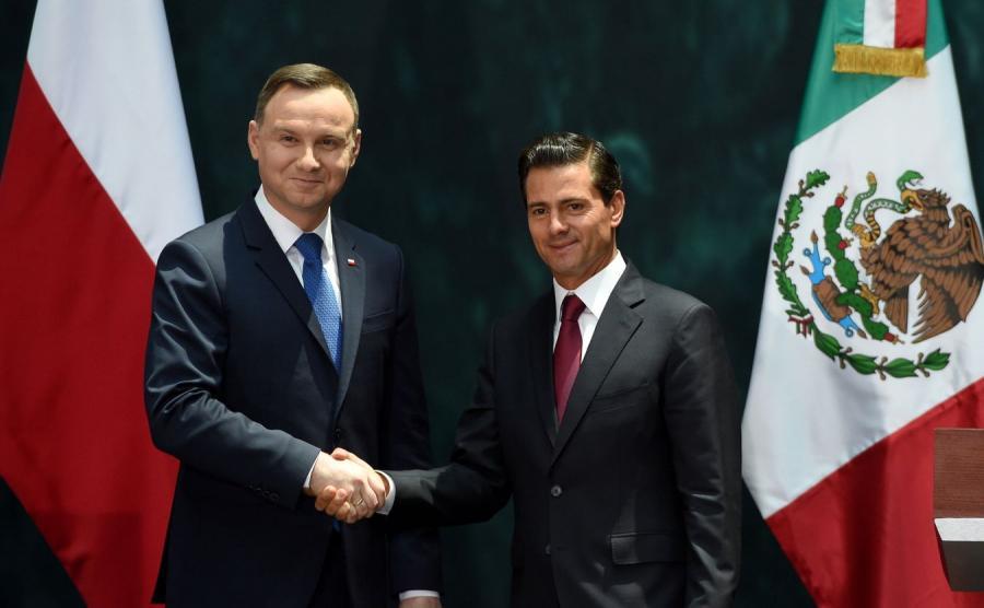 Prezydent Polski i Prezydent Meksyku
