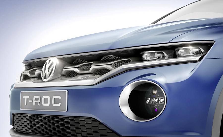 Volkswagen T-Roc - prototyp z 2014 roku