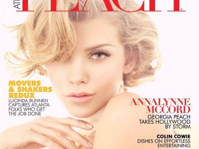 "AnnaLynne McCord, ""Atlanta Peach"" z listopada"