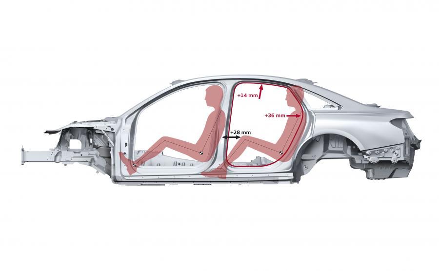 Pod względem sztywności skrętnej (arametru decydującego o precyzji prowadzenia oraz komfortu akustycznego) nowe audi A8 ma o niemal 25 proc. przewyższać wartości schodzącego modelu