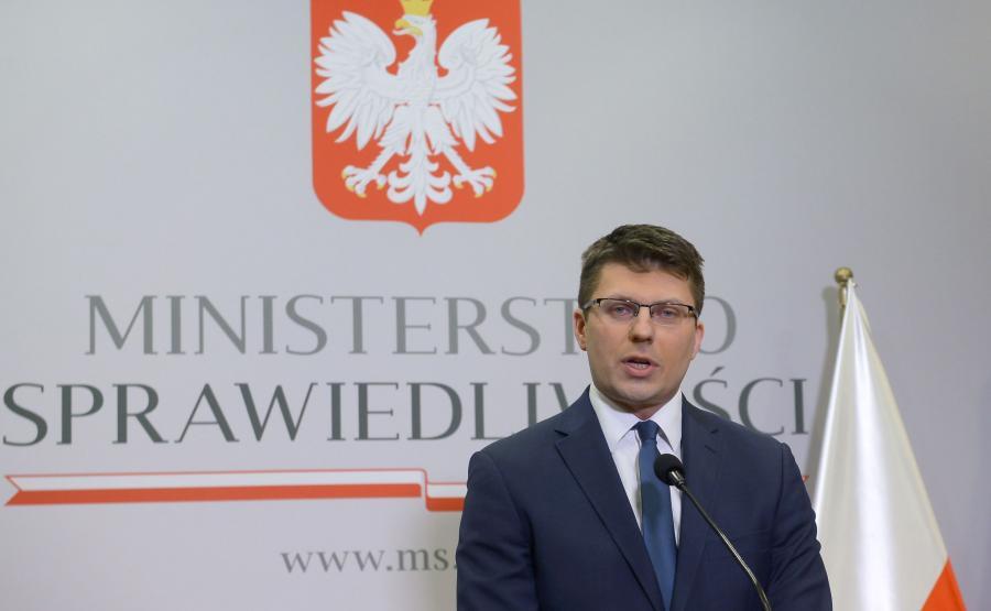 Wiceminister Sprawiedliwości Marcin Warchoł