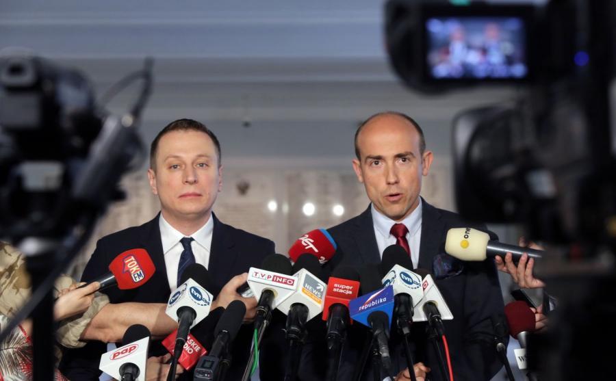 Krzysztof Brejza i Borys Budka