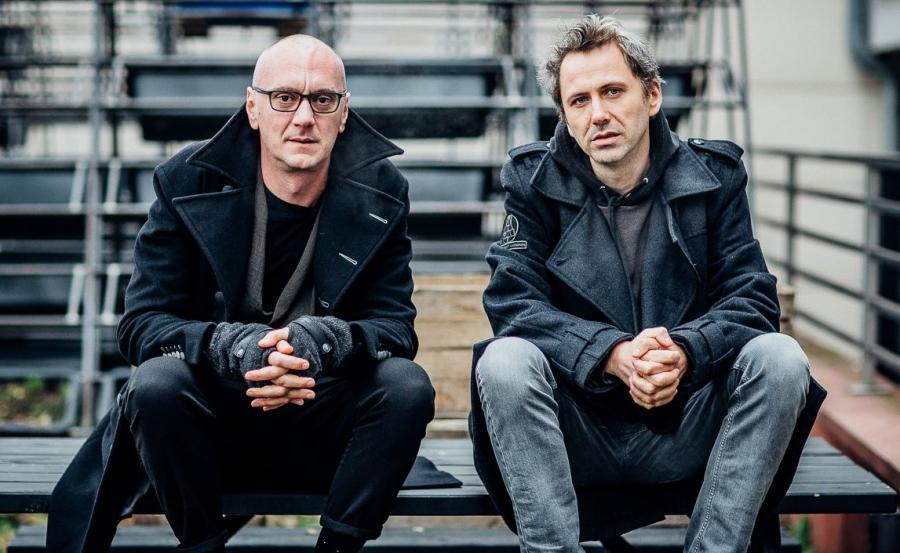 Goran Injac i Oliver Frljić (Fot. Marcin Oliva Soto)