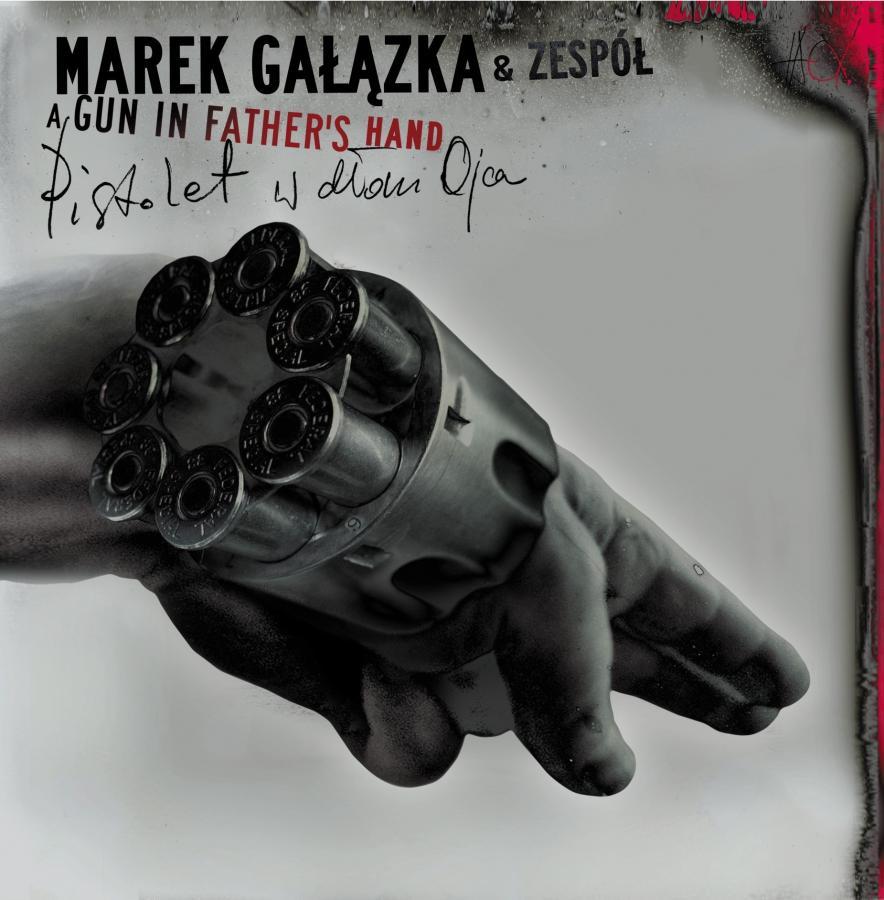Okładka płyty Marka Gałązki \