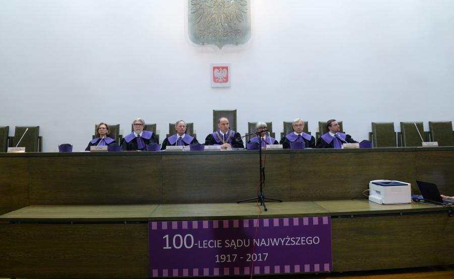 Posiedzenie Sądu Najwyższego