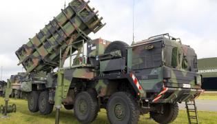 Wyrzutnia rakiet patriot na wyposażeniu niemieckiej armii