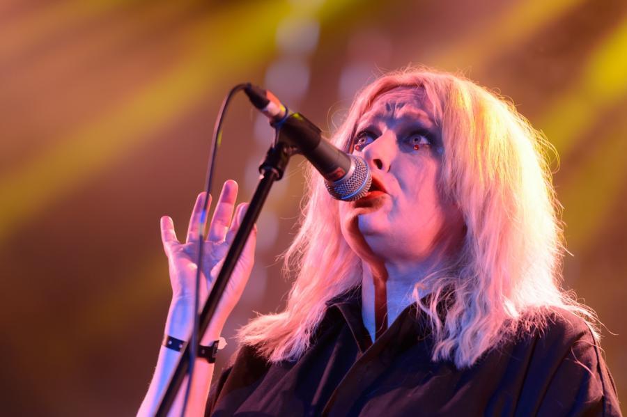 Katarzyna Nosowska na koncercie Męskie Granie. Poznań, 9 lipca 2017.