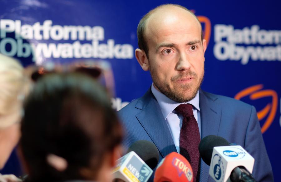 Wiceprzewodniczący Platformy Obywatelskiej Borys Budka.