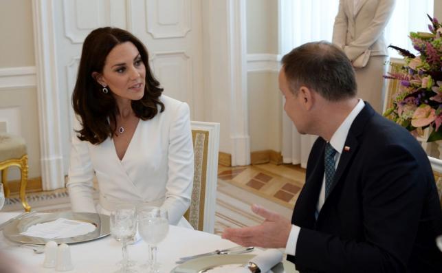 Kate i William w Polsce. Spotkanie z parą prezydencką