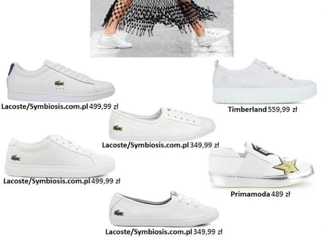 5dc01d86648a33 Hit lata: białe buty. PRZEGLĄD najmodniejszych modeli - Zdjęcie 5 ...