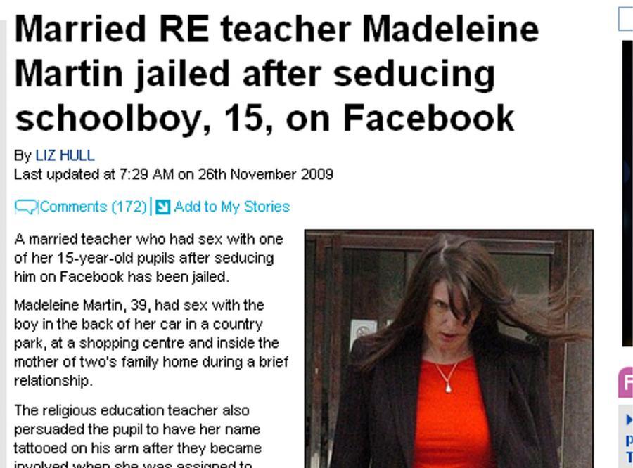 Nauczycielka religii uwiodła 15-letniego ucznia