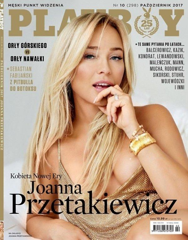 Joanna Przetakiewicz na okładce magazynu \