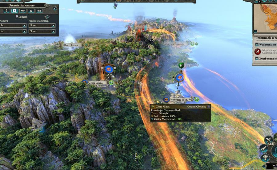 Total War: Warhammer 2 mapa kampanijna