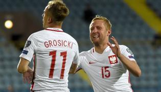 Kamil Grosicki i Kamil Glik