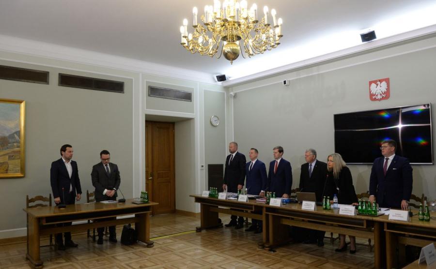 Wojciech Pastor przed komisją ds. Amber Gold