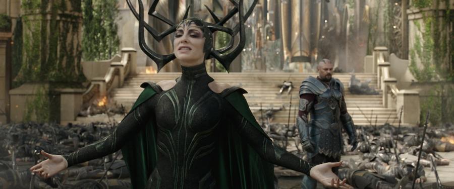 Cate Blanchett w produkcji \