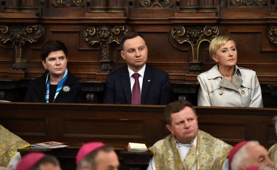 Andrzej Duda, Agata Kornhauser-Duda, Beata Szydło