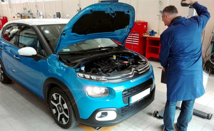 Przegląd techniczny auta