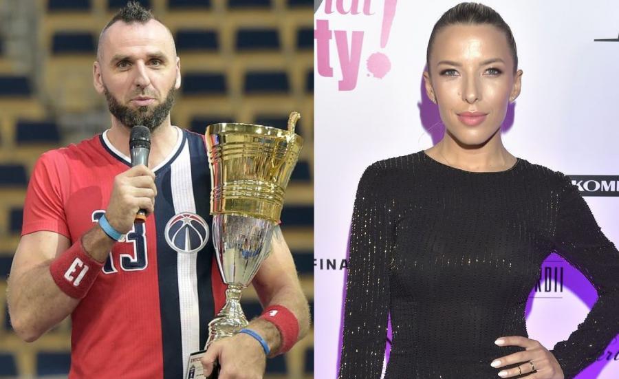 Marcin Gortat i Ewa Chodakowska