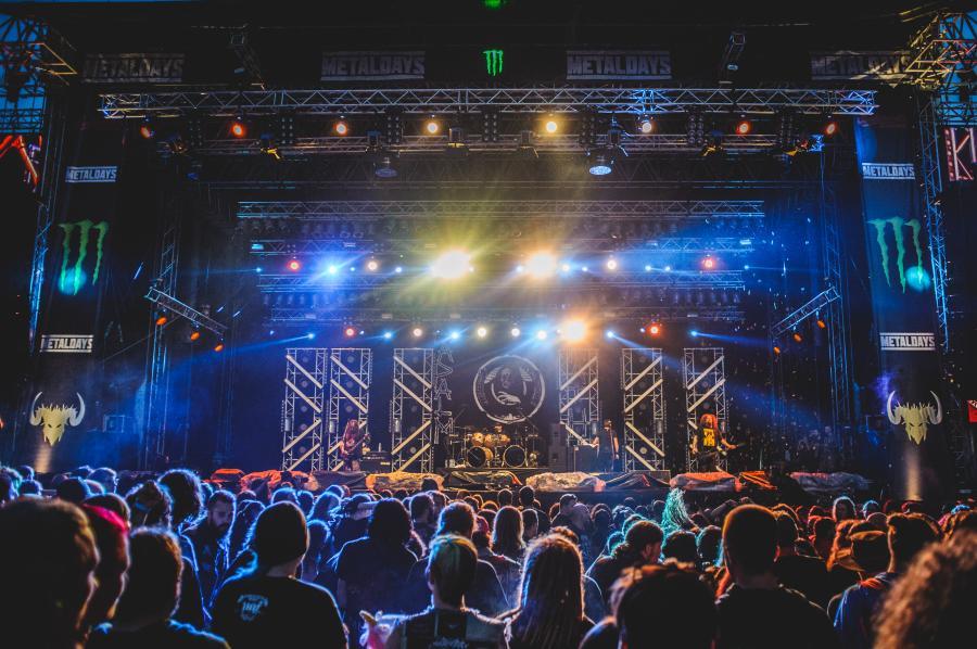 Na scenie Napalm Death