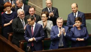 Mateusz Morawiecki i jego rząd