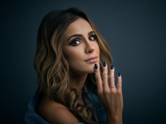 Sara Boruc w kampanii lakierów Indigo Nails