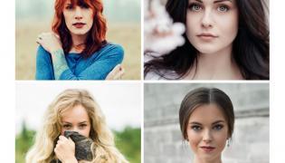 Kobiety o różnych kolorach włosów