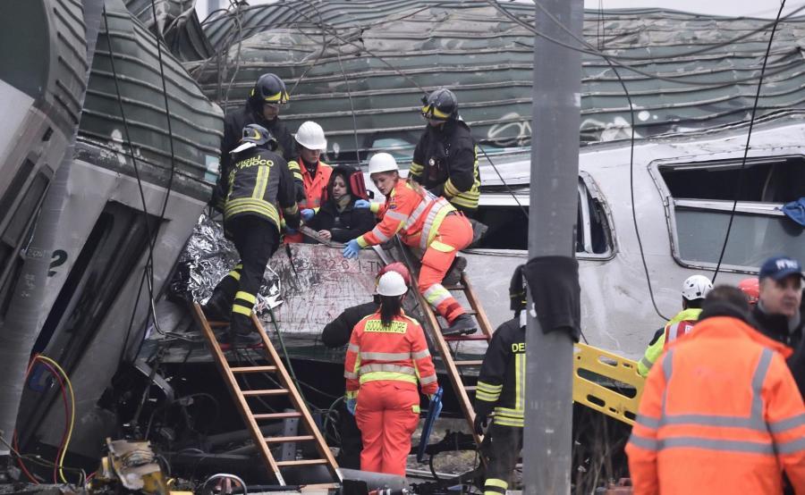 Wypadek pod Mediolanem