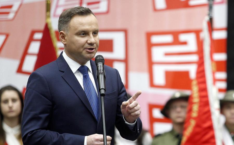 Andrzej Duda w Żorach