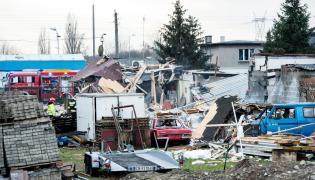 Wybuch gazu. Bydgoszcz