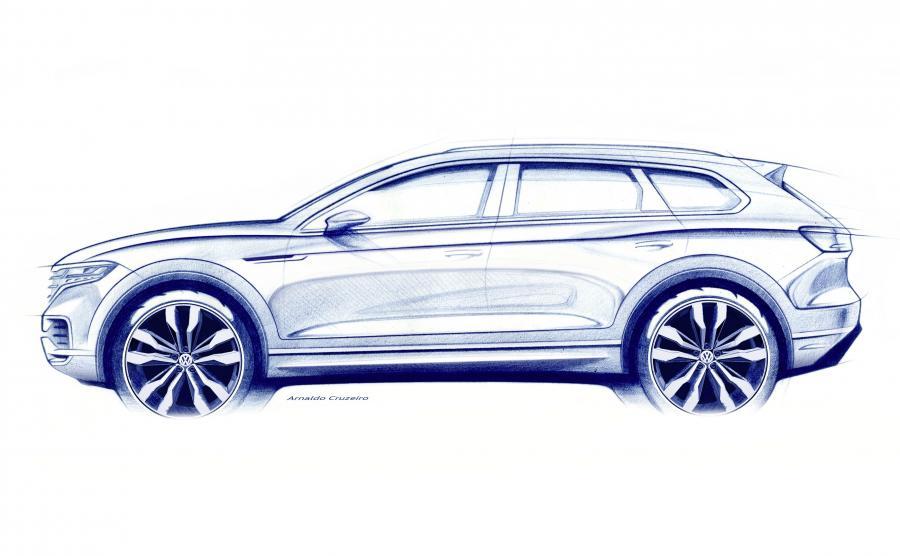 Volkswagen Touareg zadebiutuje w Chinach - na najszybciej rosnącym rynku modeli typu SUV na świecie, a dla VW największym pojedynczym rynku sprzedaży