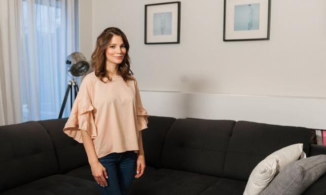 Maja Bohosiewicz wpuściła kamery do swojego domu. Zobacz mieszkanie gwiazdy [FOTO]