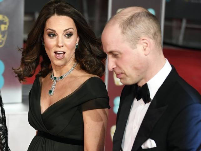 Księżna Catherine i książę William