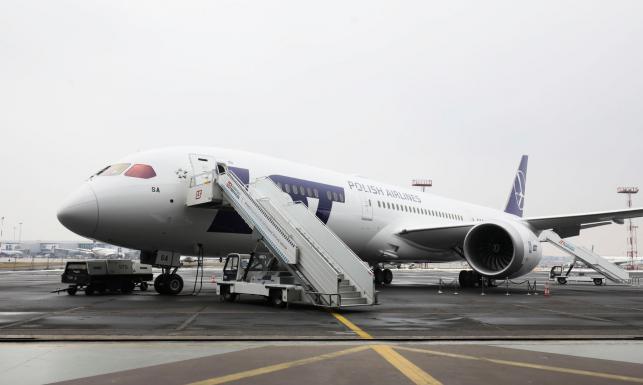 Największy i najnowszy samolot LOT jest już w Polsce. Oto dreamliner 787-9