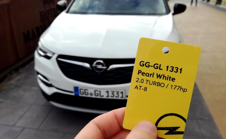 Opel Grandland X w wersji Ultimate