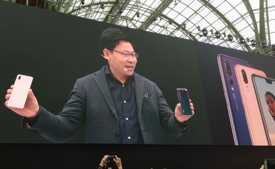Richard Yu, Dyrektor Generalny Huawei Consumer Business Group