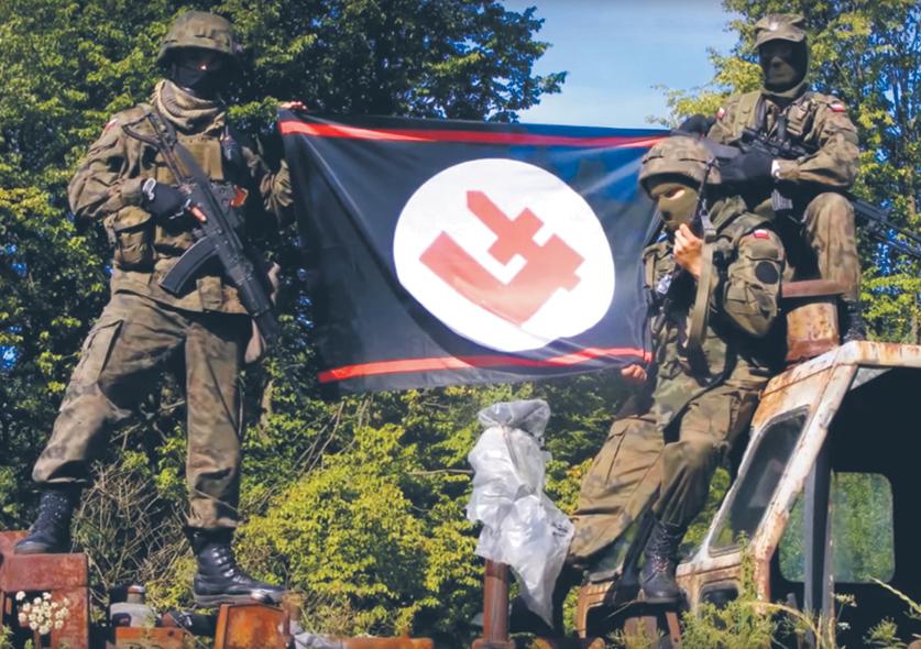 """Falangiści walczyli na wojnie w Zagłębiu Donieckim po stronie separatystów, odwiedzali Syrię Baszara al-Asada i organizowali w Bieszczadach """"patrole antybanderowskie"""""""