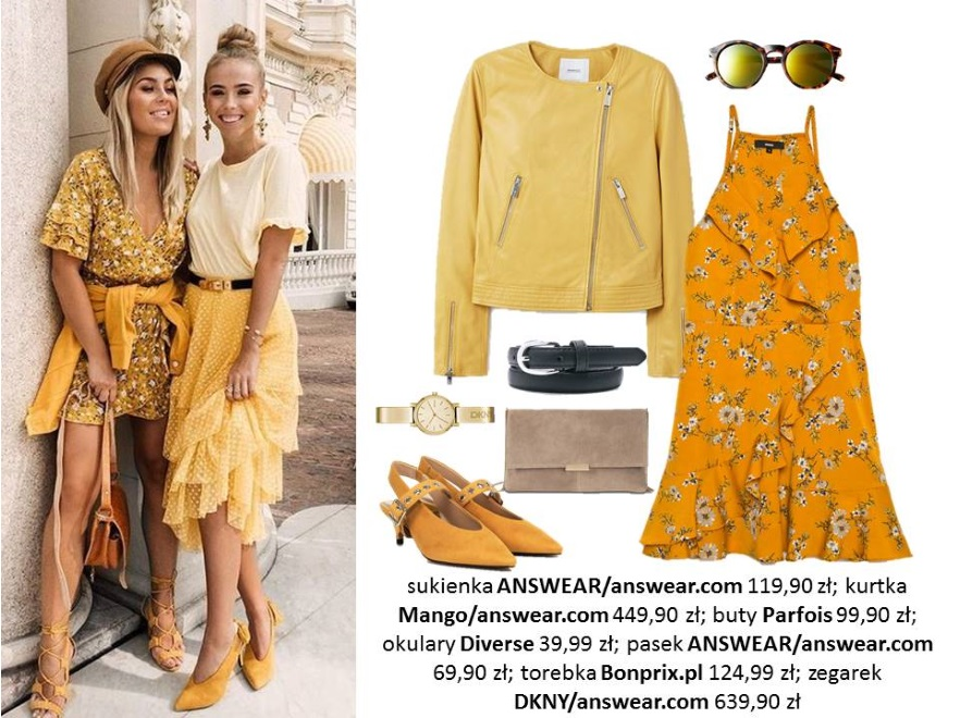 Wiosenne trendy z Pinteresta. STYLIZACJE