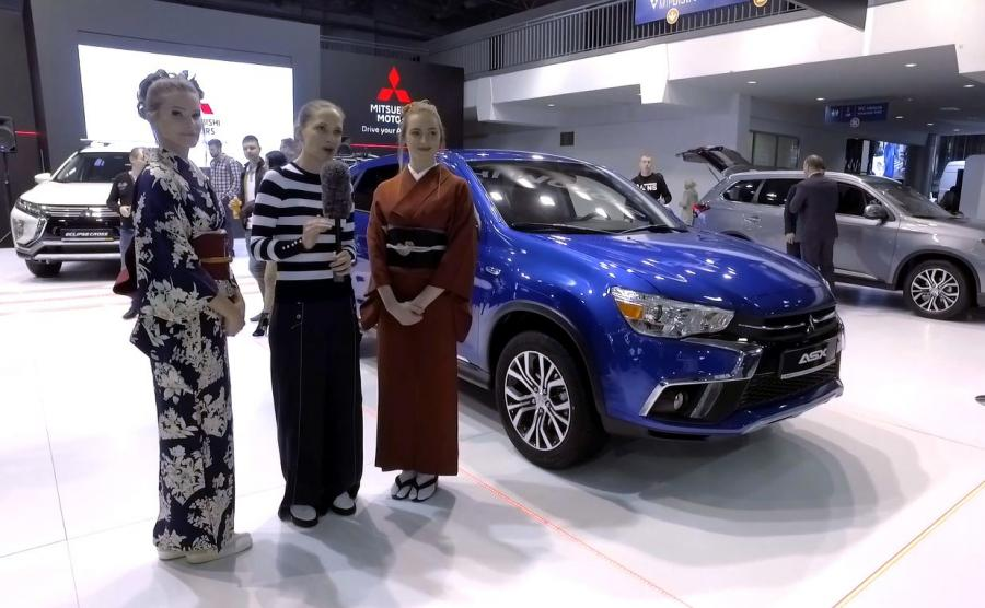 Anna Cieślak, gejsze i Mitsubishi ASX Blue Edition