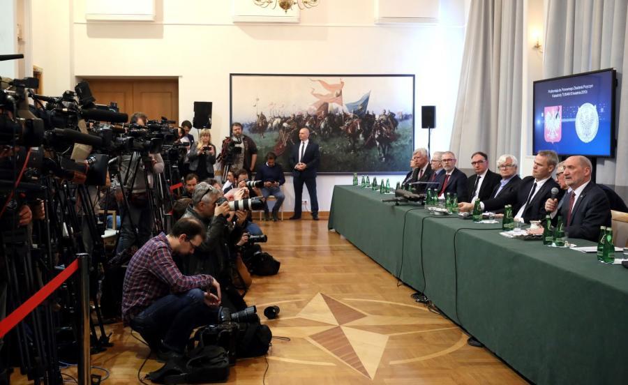 Prezentacja raportu technicznego podkomisji badającej katastrofę smoleńską