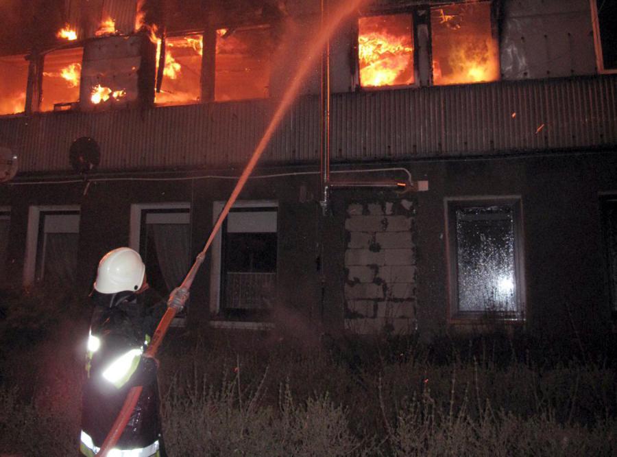 Świadkowie: Hotel płonął jak pochodnia