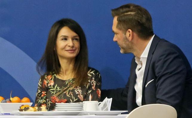 Marta Kaczyńska i Piotr Zeliński