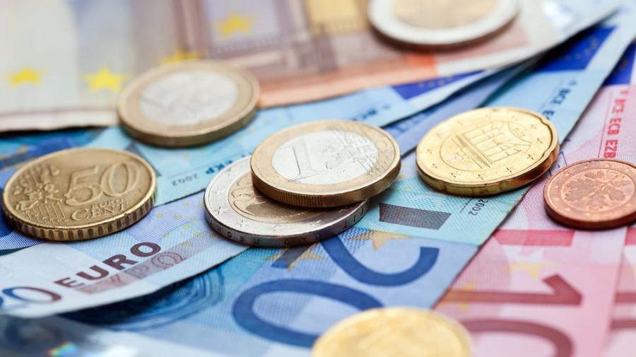 euro pieniądze