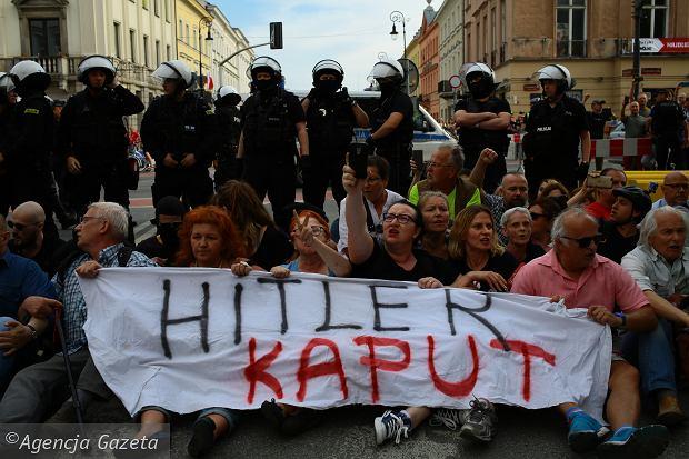 Demonstracja antyfaszystowska