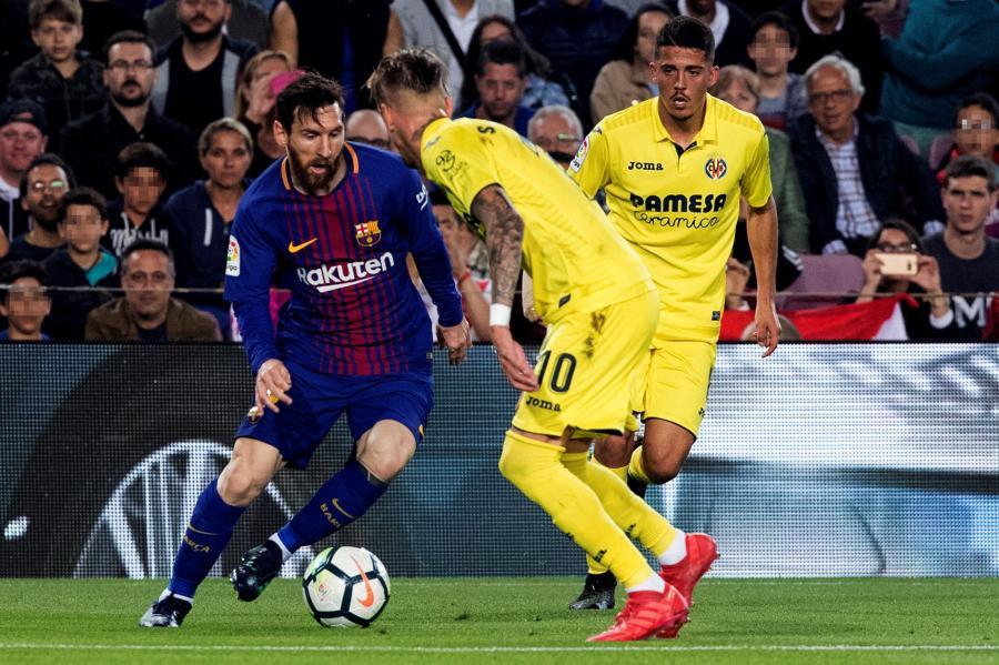 Lionel Messi i Samu Castillejo