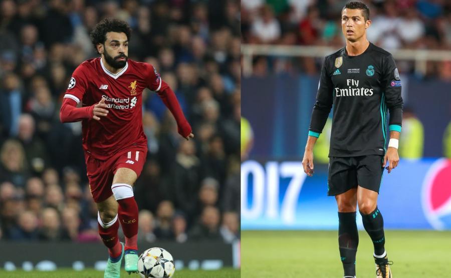 Mohamed Salah i Cristiano Ronaldo