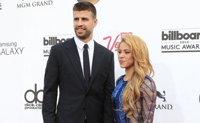Gerard Pique i jego żona Shakira