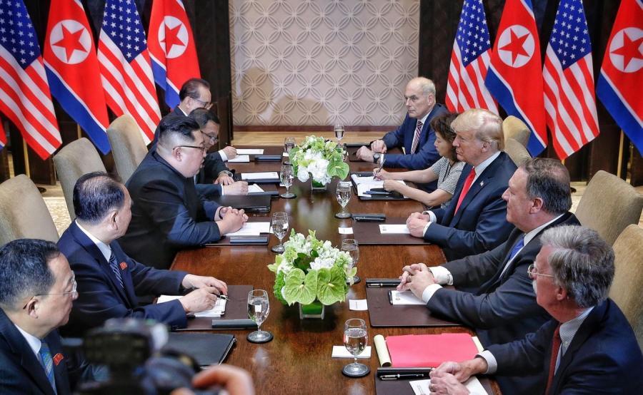 Spotkanie Trump - Kim